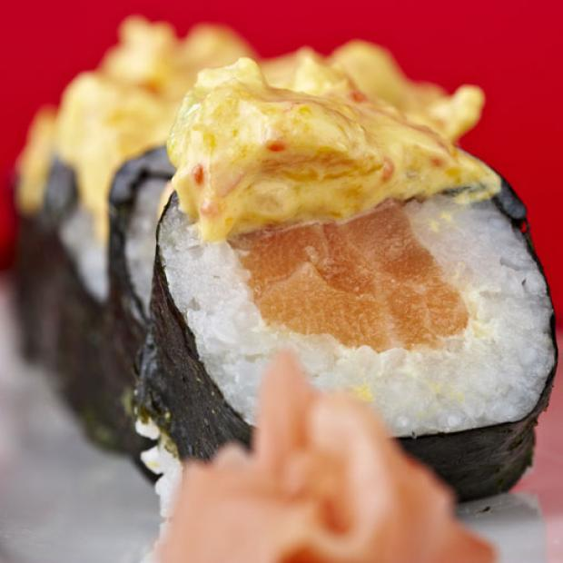 receta Tropical roll